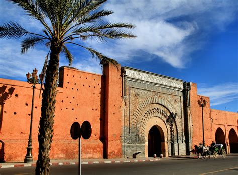 morocco city marrakech