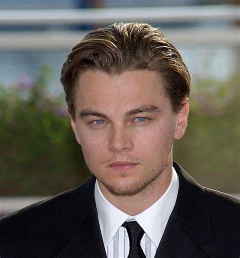 leonardo dicaprio hairstyle name what is the best men s hair style in the world vote here