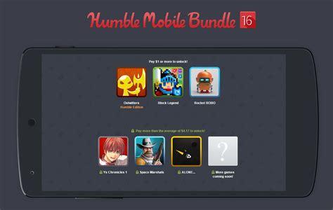 humble bundle android app humble mobile bundle 16 space marshals ys chronicles block legend frandroid