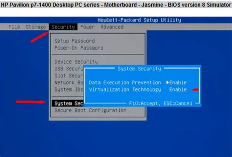 reset bios hp all in one solved uefi bios hp pavillion hp support forum 3120873