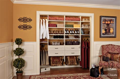 easyclosets showroom ivory reach in