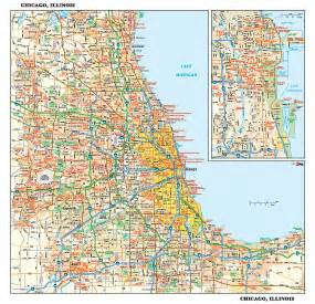 Chicago Metro Area Map by Chicago Suburb Map Printable Car Tuning