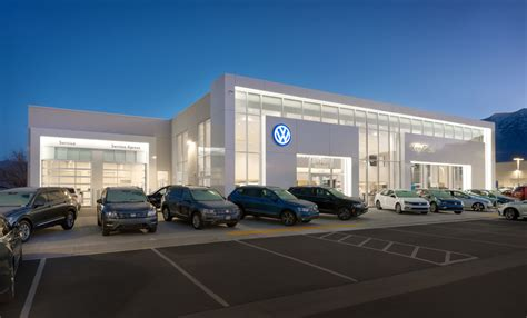 ken garff volkswagen dealership curtis miner architecture