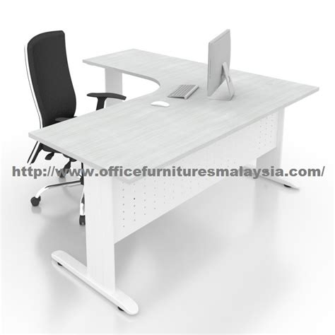 5 ft office desk 6ft x 5ft office l shaped manager malaysia furniture