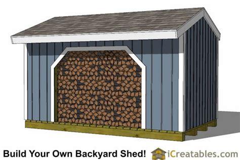 Floor Plans For Sheds firewood shed plans diy wood bins easy to build wood