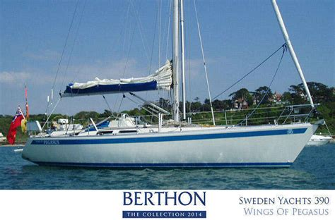 windy boats sweden sweden yachts 390 wings of pegasus joins the berthon
