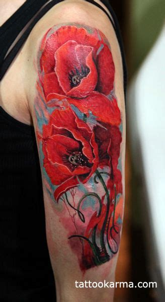 watercolor tattoo artists near boston watercolor poppy around wrist search