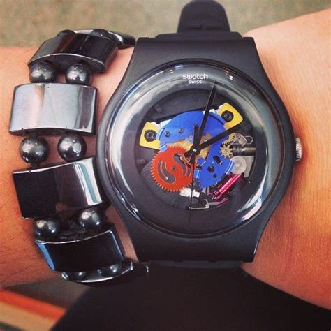 Jam Tangan Swatch New Gent jual jam tangan swatch suo b101 black lacquered