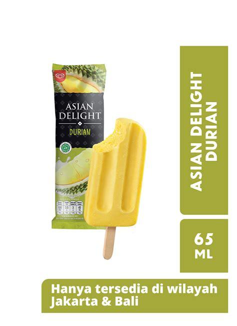 walls ice cream asian delight durian ml klikindomaret