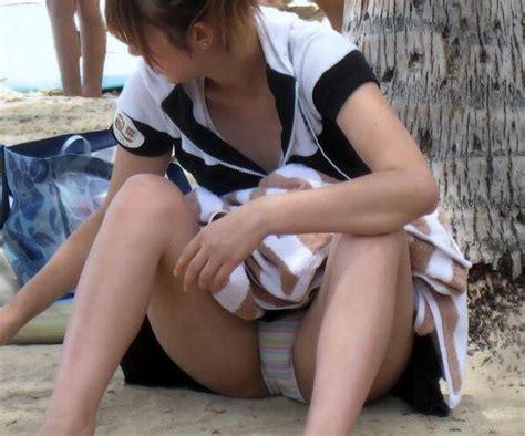 kittygfs biqle パンチラ神画像 on twitter quot 海岸で砂遊びしているギャルがパンチラ見せてます http t