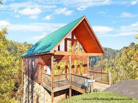gatlinburg cabins 1 bedroom quot a nice catch quot 1 bedroom cabin above gatlinburg tn with