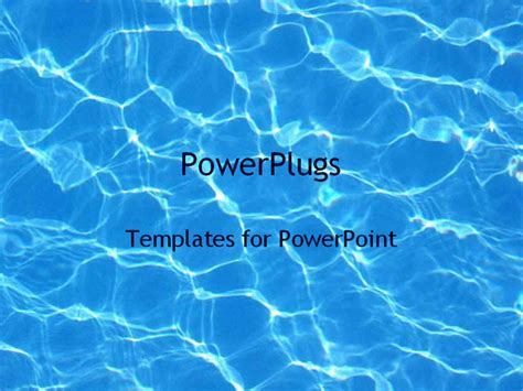 swimming pool templates water in a pool powerpoint template background of pool