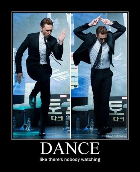 Dance Meme - happy birthday tom hiddleston tomsspiritweek day 2