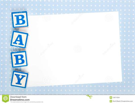 Template Baby Boy Card by Theme Blank Baby Showers Invitations