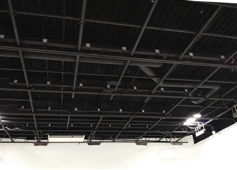 Lighting Grid by Stage In New Jersey New York Production Stage