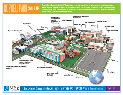 Food Truck Floor Plans main campus map roswell park comprehensive cancer center