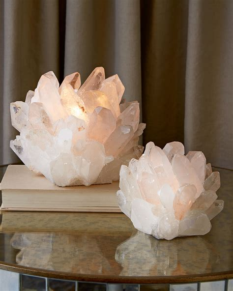 crystal home decorations everybody s doing it quartz votive candle holder decor