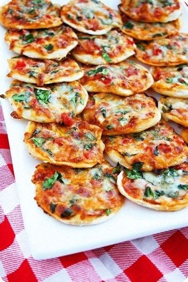 printable appetizer recipes thin crust pizza bites make your own mini pizzas printable