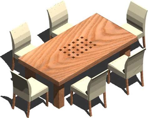 mesa de comedor    personas en autocad cad