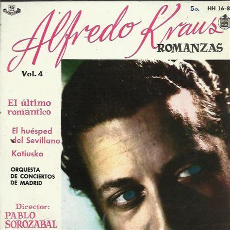 alfredo kraus la tabernera alfredo kraus romanzas de zarzuelas records lps vinyl