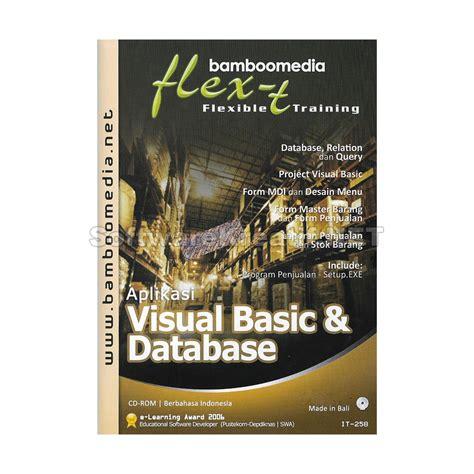 tutorial visual basic database bamboomedia cd video tutorial aplikasi visual basic dan