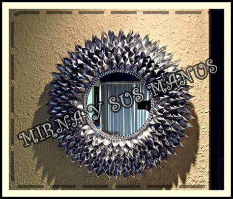 decorar espejos con silicona reciclaje decorando un espejo con botellas de pl 225 stico