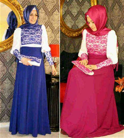 contoh desain gamis terbaru contoh foto baju muslim modern terbaru 2016 15 gambar