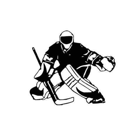 Eishockey Helm Sticker by 13 3 12cm Hockey Player Car Stickers Car