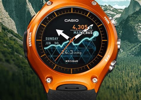 Casio Smartwatch Android android wear casio smartwatch wsd f10 launching in april