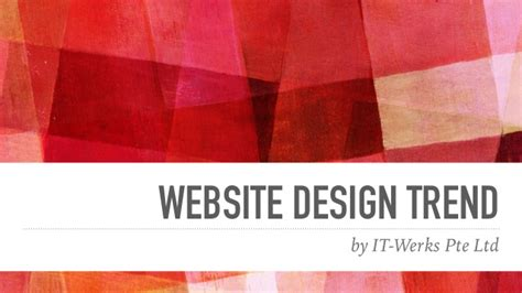 by web website design trend 2016