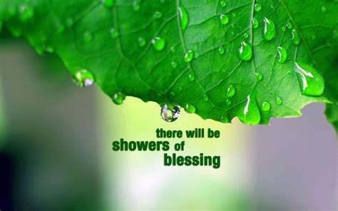 Showers Of Blessing by Showers Of Blessing Christian Wallpapers