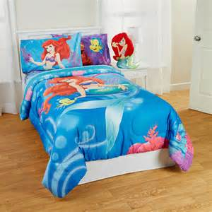 disney little mermaid shimmer and gleam comforter sheet