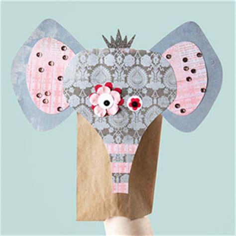 Paper Puppet Crafts - free paper puppet patterns 171 free patterns