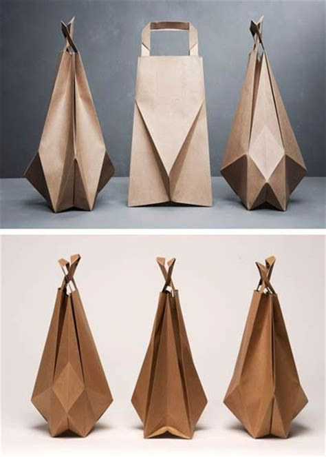Origami Paper Bags - 17 best images about origami packaging on