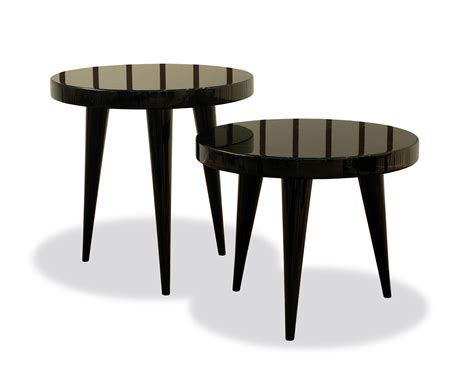 Small Round Accent Table | nella vetrina elle modern italian round small wood accent