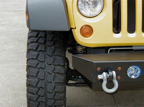 Jeep Jk Wheel Spacers Before And After Country 1 5 Quot Wheel Spacers Installed
