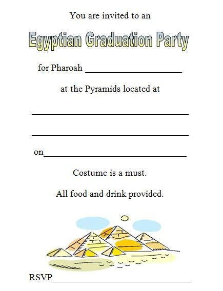 printable invitations to sunday school 10 best egyptian themed party invitation images on