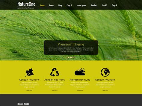 themes wordpress nature nature one wordpress themes photobox