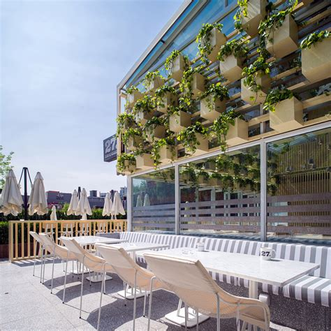 Design Concept Green House   transformed greenhouse into plant lined coffee shop by the