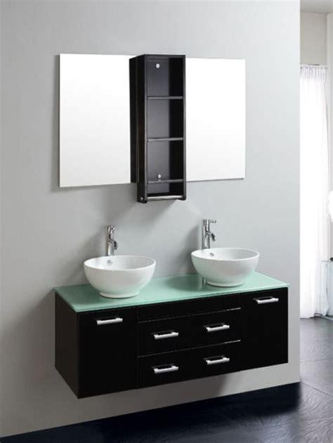 mobili bagno neri mobile bagno 120cm con doppio laccato nero pd