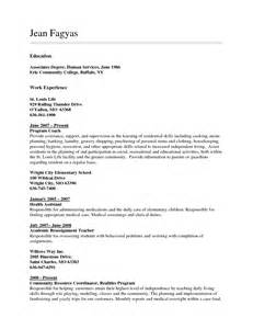 Resume Education Examples Associate S Degree Augustais