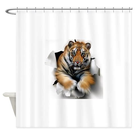 Tiger Shower Curtain by Tiger Artwork Shower Curtain By Admin Cp66866535