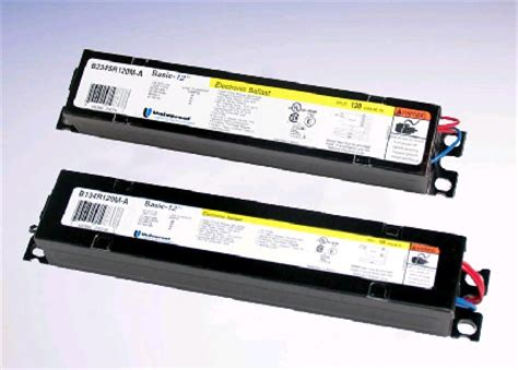 Lighting Ballasts by Universal Lighting Introduces Basic 12 Tm Electronic