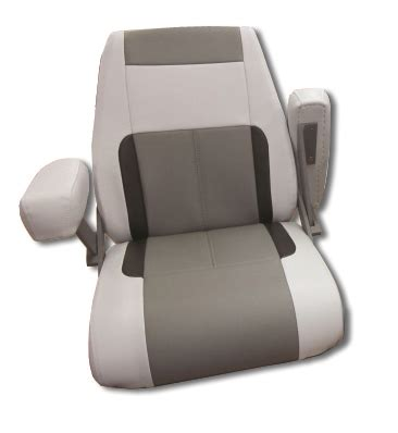 folding boat seat with armrests single boat seating by bentley s mfg bentleys