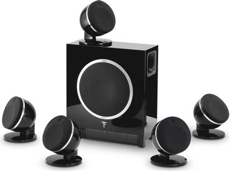 focal pack dome 5 1 h theater speaker system