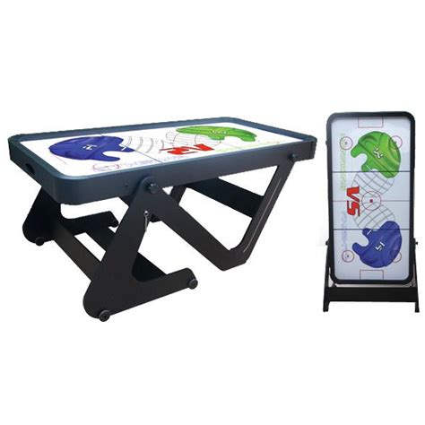 Folding Air Hockey Table Bce Typhoon 6ft Folding Air Hockey Table Sweatband