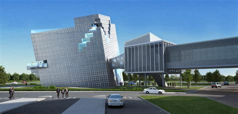 Theeae Cube Mixed Use Office Tower Design 辦公樓設計 다용도