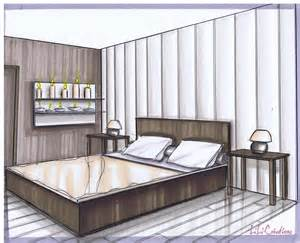 comment dessiner une chambre en perspective