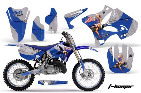 Yamaha Yz 250 Sticker Kit yamaha motocross graphic sticker kit yamaha mx yz250 yz125