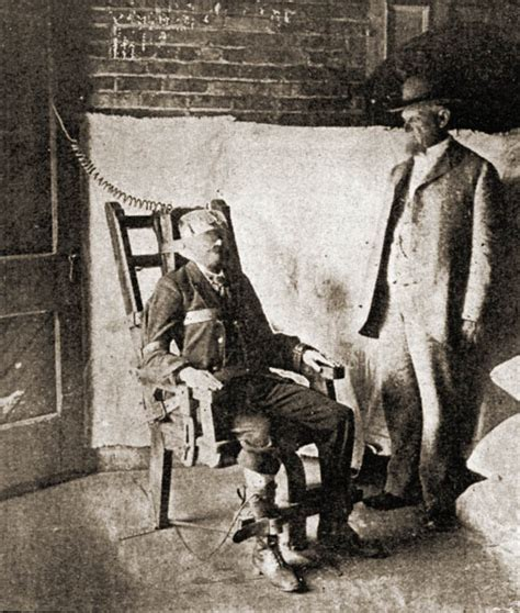Execution By Electric Chair by The Execution Of Czolgosz Pan American Exposition